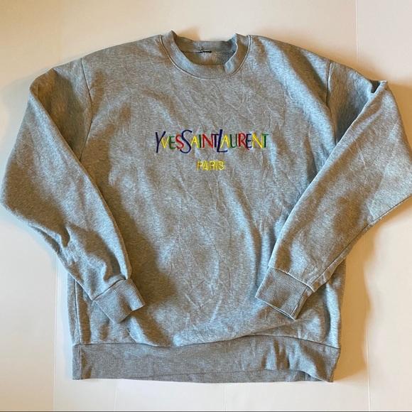 saint laurent sweatshirt sale